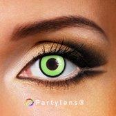 Partylenzen - Green Manson -  jaarlenzen incl. lenzendoosje - kleurlenzen Partylens®