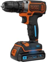 Black & Decker 18 Volt Accuboormachine Met Bluetooth SmartTech - 30 Nm - 1,5Ah - BDCDC18KST QW