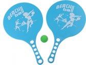 Johntoy Beachball-set 3-delig Blauw 36 X 22 Cm