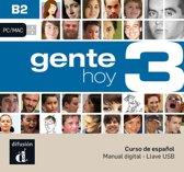 Gente hoy 3 - B2 - Llave USB con libro digital