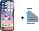 Pearlycase® Tempered Glass / Gehard Glazen Screenprotector voor Apple iPhone X / Xs