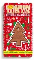 Tony's Chocolonely Kerstreep melk glühwein - 180 gram