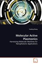 Molecular Active Plasmonics
