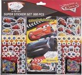 Disney Cars Super Sticker Set - 500 stuks