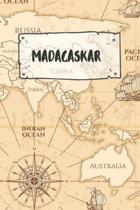 Madagaskar: Liniertes Reisetagebuch Notizbuch oder Reise Notizheft liniert - Reisen Journal f�r M�nner und Frauen mit Linien