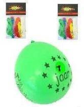 Ballonnen 7 jaar 8 stuks