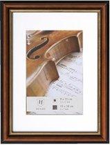 Henzo Verona - Fotolijst - Fotomaat 18x24 cm - Donker Bruin