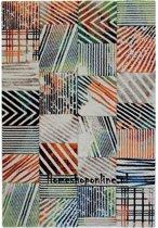 Vloerkleed Rhapsody Cardin Laagpolig Tapijt Multicolour Carpet - 120 x 170 cm