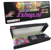 Loom Bands Starters Kit - inclusief 600 Mix Bandjes