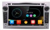 Opel autoradio wince  DAB+ look autoradio met navigatie usb aux touchscreen Zilver