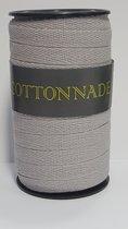 Ribbon Cottonnade Silver 10mm x 20 meter (1 roll) [HV-CTN10R]