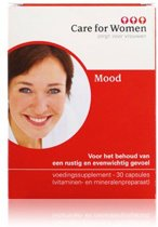 Care for Women Mood Voedingssupplement - 60 Capsules