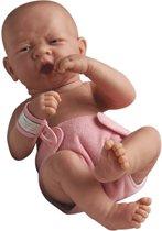 Berenguer Babypop Blank Meisje met open mondje 36 cm