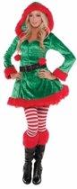Kerstelfen jurkje voor dames M - Kerst kleding vrouwen