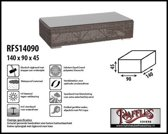 RFS14090 Hoes voor een loungetable of hocker, past over max. 135 x 85 cm