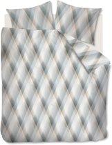 Beddinghouse Manu - Dekbedovertrek - Eenpersoons - 140x200/220 cm + 1 kussensloop 60x70 cm - Grijs