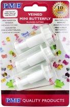 PME Butterfly Plunger Cutter Mini set/3