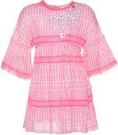 Mim-pi Meisjes Jurk - Roze - Maat 128