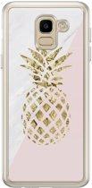 Samsung Galaxy J6 2018 siliconen hoesje - Ananas