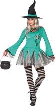 Sexy heksen Halloween kostuum voor vrouwen  - Verkleedkleding - M/L
