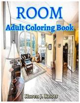 Room Coloring Book for Adults Relaxation Meditation Blessing