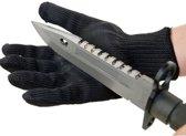 1 paar RVS anti-snijden handschoenen