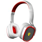 Logic3 Ferrari Scuderia R200 On-Ear Headphones Wit PC + Mac + Mobile