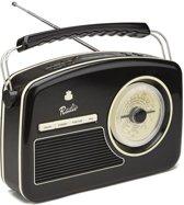 GPO RYDELLDABBLA Trendy jaren 50 style DAB+ radio