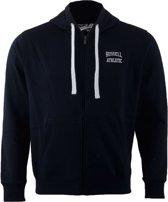 Russell Athletic Zip Through Hooded - Sporttrui - Mannen - Maat XL - Navy