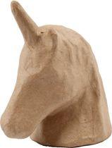 Trofee, unicorn, h: 18,5 cm, b: 10 cm, 1stuk