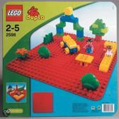 Afbeelding van LEGO Duplo Stenen Grote Bouwplaten Rood - 2598 speelgoed