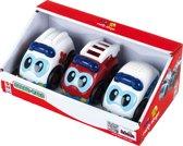 Bosch Speelgoed auto met geluid set van 3