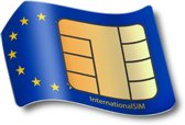 Data SIM kaart Europa, incl  1 GB