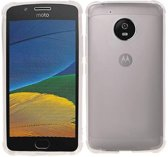 Motorola Moto G5 Plus Hoesje Schokbestendig Transparant TPU Backcover