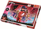 Miraculous LadyBug en Chat Noir, 260 stukjes Puzzel