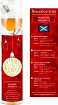 Whisky kerstballen Schots - Whiskykerstballen - 4 kerstballen - Schotse Editie