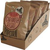 John Altman biologische Caramel & Sea Salt popcorn- 8 STUKS