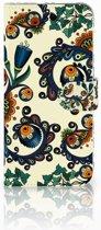 Samsung Galaxy A50 Wallet Case Barok Flower