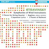 Stravinsky: Symphonies of Wind Instruments etc / Rattle et al