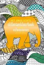 Het enige echte olifantenkleurboek voor volwassenen