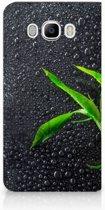Samsung Galaxy J7 2016 Standcase Hoesje Design Orchidee
