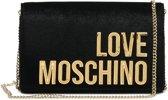 Love Moschino Borsa Velvet Crossbodytas - Zwart