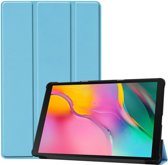 Samsung Galaxy Tab A 10.1 (2019) Hoesje - Smart Book Case - Lichtblauw