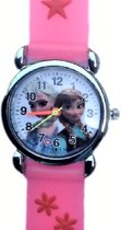 Charme Bijoux® Frozen - Horloge -Siliconen - Roze - 26 mm