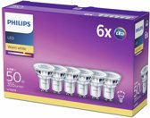 Philips LEDClassic 4,6W (50W) GU10 Warm wit 6 stuks