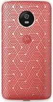 Motorola Moto G5 Plus hoesje Geometric