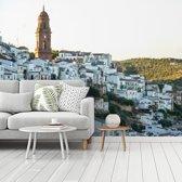 Fotobehang vinyl - Montoro in het Spaanse Córdoba breedte 360 cm x hoogte 270 cm - Foto print op behang (in 7 formaten beschikbaar)