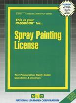 Spray Painting License