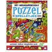 Het megasupercoole puzzel en spelletjesboek