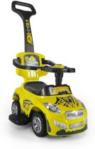 Milly Mally Happy Loopwagen Raceauto Junior Geel
